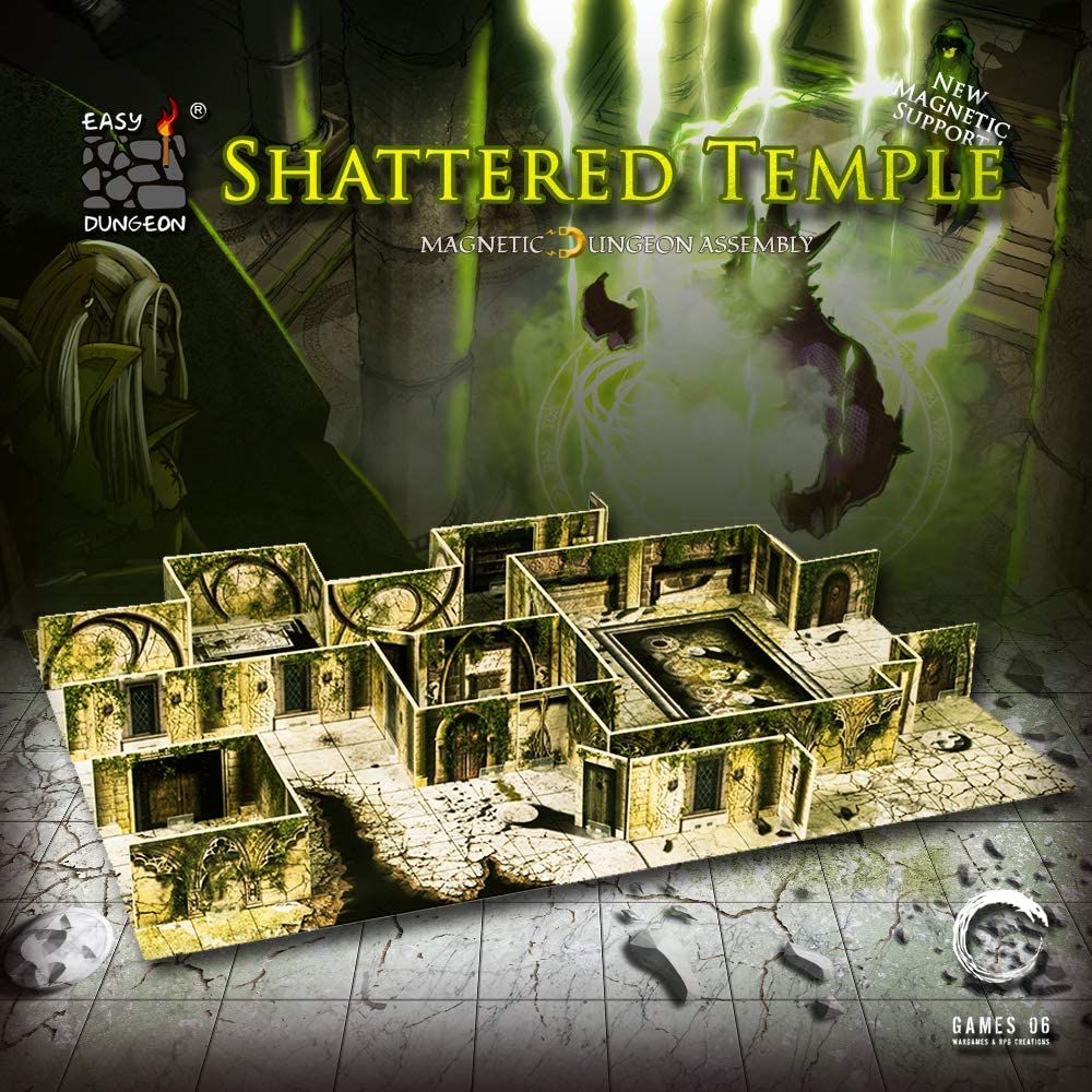 Games06 Easy Dungeon - Shattered Temple