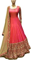 Gowns For Women/Girls/Ladies/Casual/Office/Party Wear Women's Dress Material Salwar Suits For Women/Gown for Women/Anarkali Suits(New Collection Fancy And Regular Wear Unstiched Salwar Suit Dress Material In Low Price Lovely) by Kajal Fashion 07