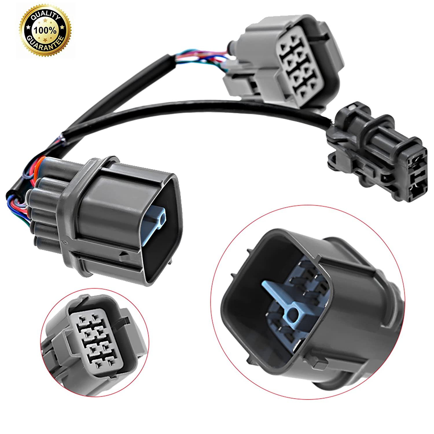 Engine Harness 10 Pin Obd2 To Obd1 Distributor Jumper B17 Wiring For Honda Acura Automotive