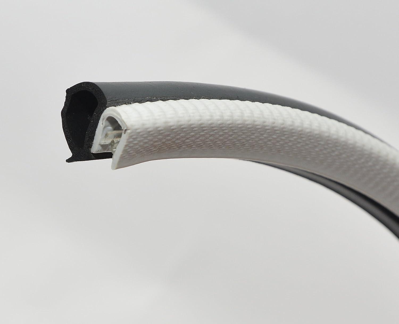 Light online shop Gray Door Rubber Seal Classic 16mm Bulb Horizontal extrusion