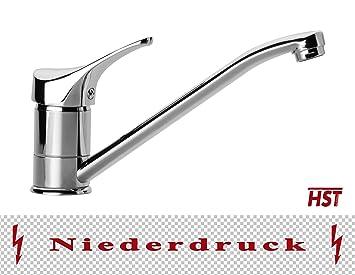 Niederdruck Küche Spüle Einhebel Armatur Wasserhahn Chrom HSTA11XL ...