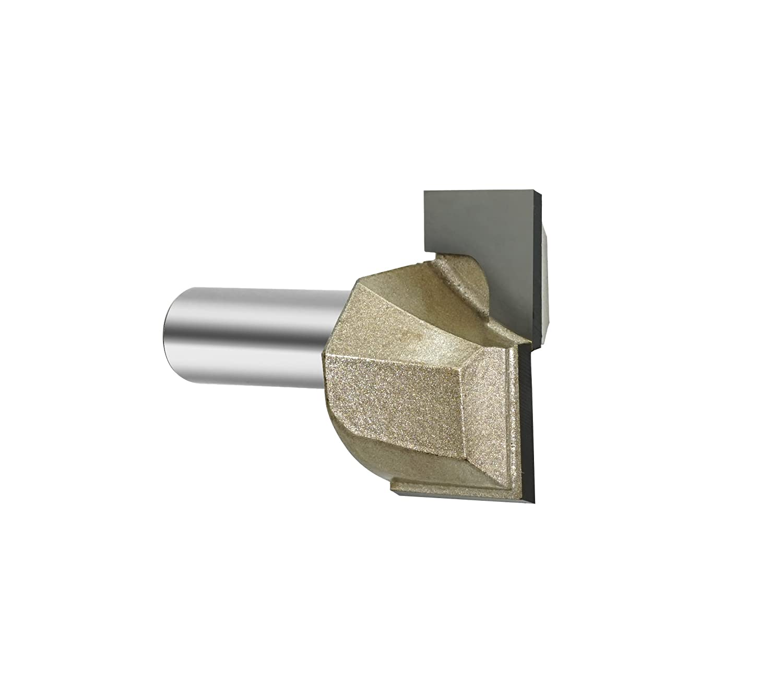 Gazeto 1-1//2 Cutting Dia Double Flute Carbide Tipped Cleaning Bottom Router Bit Cutter 1//2 Shank 1//2 Shank XIDELE