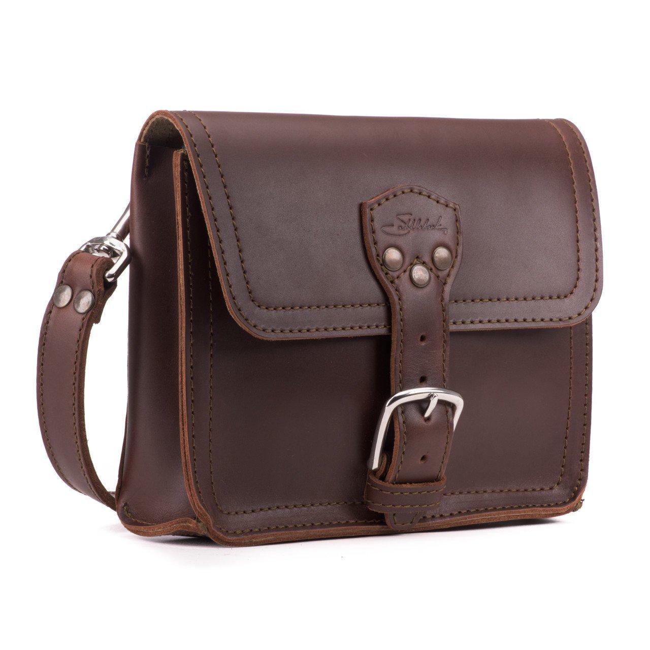 Saddleback Leather Book Bag - 100% Full Grain Leather Satchel Bag with 100 Year Warranty