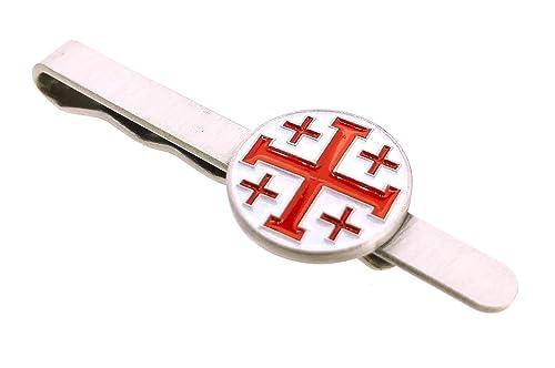 Pasador de Corbata Cruz de los Santos Lugares de Jerusalén: Amazon ...