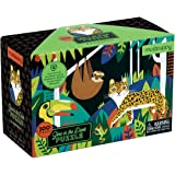 Mudpuppy Rainforest Glow in The Dark Puzzle (100 Piece)