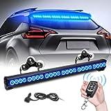 TeddyTT Emergency Strobe Police Lights Bar Directional Traffic Advisor Warning Strobe Flash Lights for Vehicles…