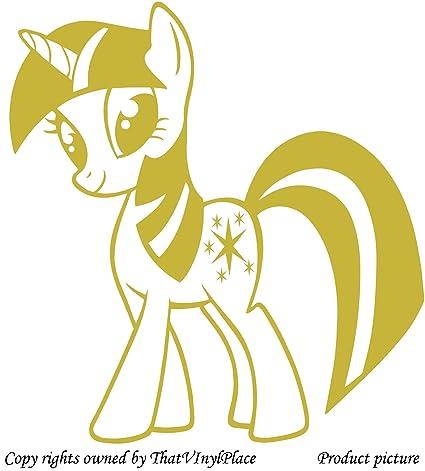 Amazon.com: My Little Pony, Stars Stickers 60 cm x 56 cm Colour ...