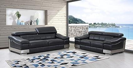 Stupendous Amazon Com Blackjack Furniture 415 Black 2Pc Wilson Pabps2019 Chair Design Images Pabps2019Com