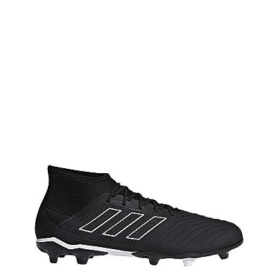 new style d7e42 83a4d adidas Predator 18.2 Fg, Scarpe da Calcio Uomo, Nero CblackFtwwht, 39