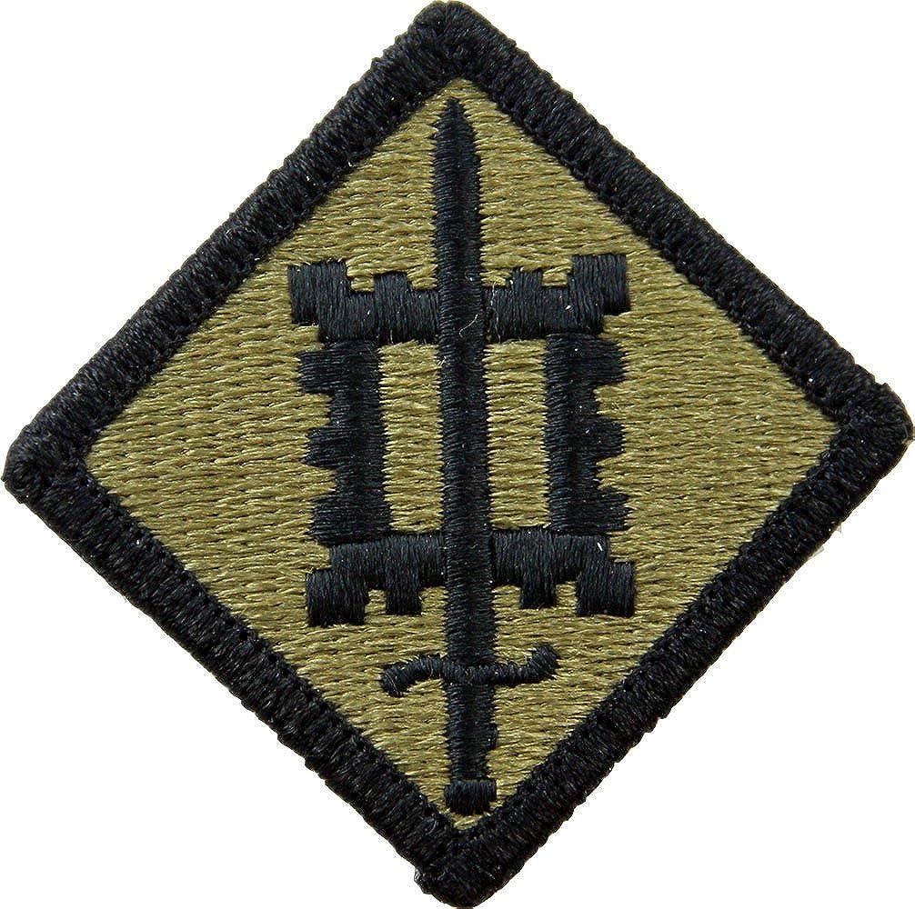 18th Engineer Brigade Scorpion//OCP Patch With Hook Fastener