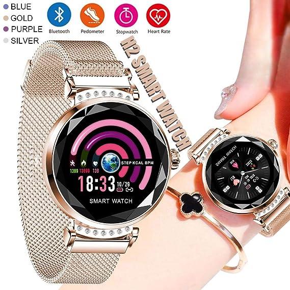 Amazon.com: Splendidsun H2 Smart Watch for Women, Waterproof ...