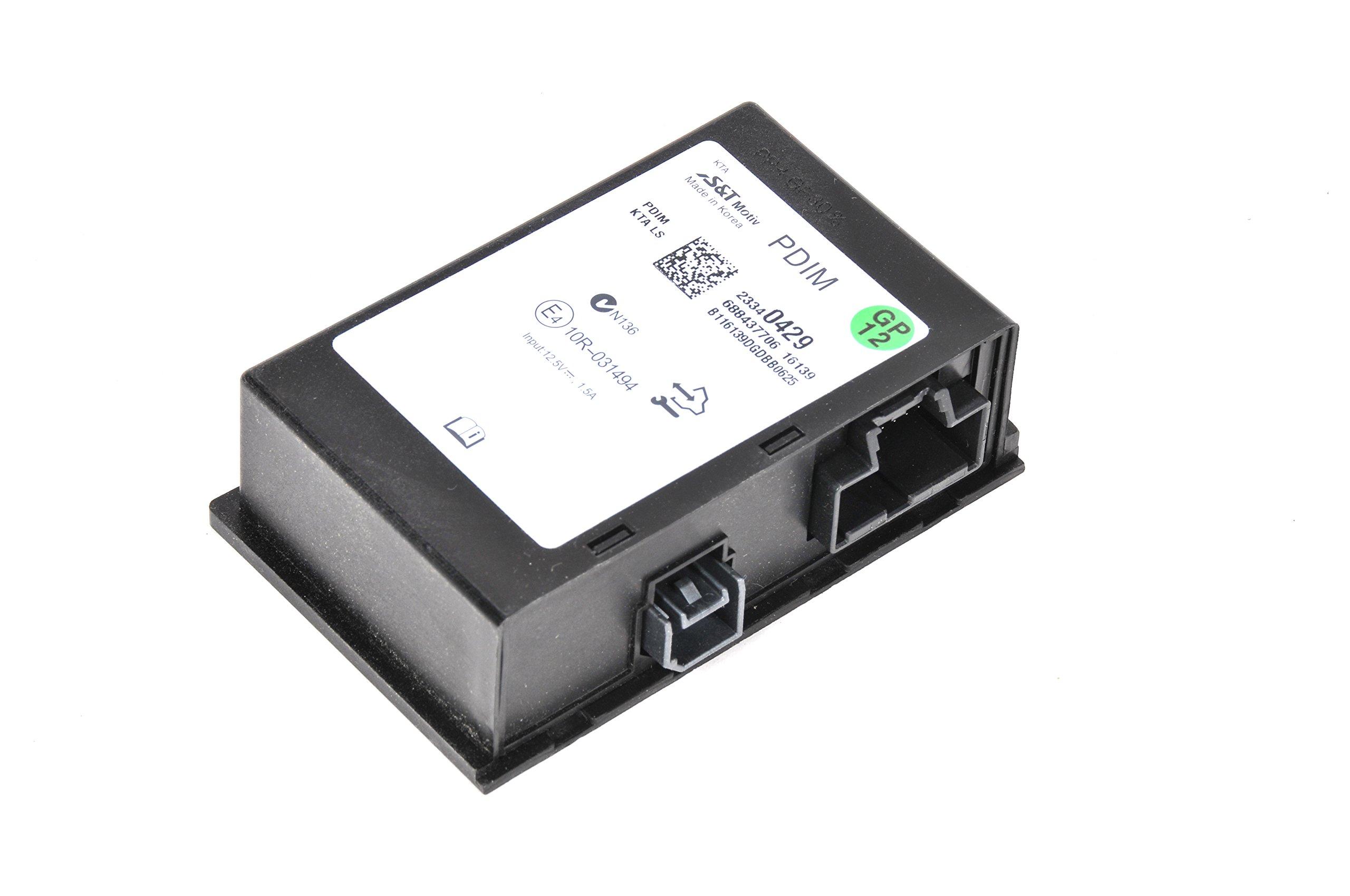 ACDelco 23340429 GM Original Equipment Multi-Media Player Interface Module