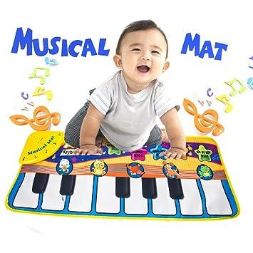 ZhongYeYuanDianZiKeJi Musical Alfombra Bebé Niño Pequeño ...