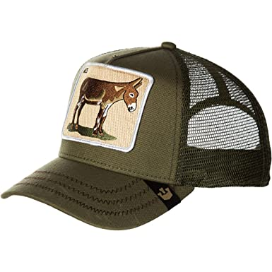 791df0d157934 Image Unavailable. Image not available for. Color  Goorin Brothers Men s Animal  Mesh Trucker Cap Hat Snapback (Donkey ...