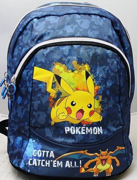 disponibilità nel Regno Unito a91e9 a878a Pokemon Zaino Round 3 Scomparti Scuola E Tempo Libero ...