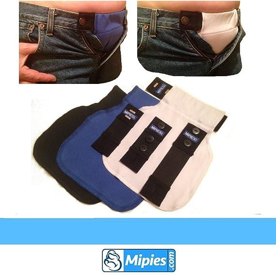 08a86ebbb Adapta tu ropa de siempre a ropa para embarazo y premama .Extensible para  pantalon y falda de botones y hebillas  Amazon.es  Bebé