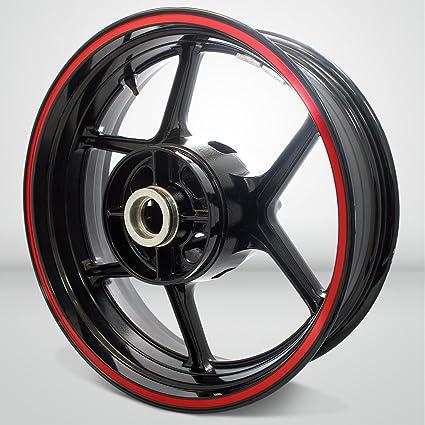 Thick Outer Rim Liner Stripe for Kawasaki Ninja 250 Gloss Red
