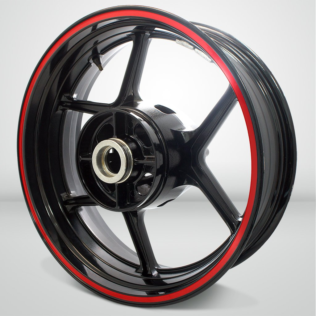 Thick Outer Rim Liner Stripe for Kawasaki Ninja 250 SL Gloss Red