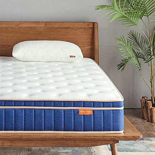 Sweetnight Ocean Blue 8″ Hybrid Mattre