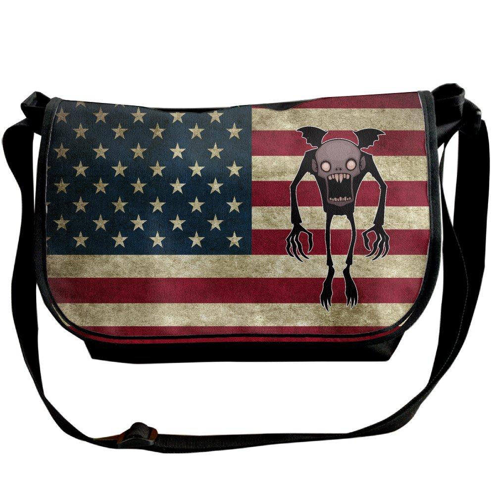 Men Women Chibi Nosferatu Comic Fashion Shoulder Bag Satchel Sling Bag