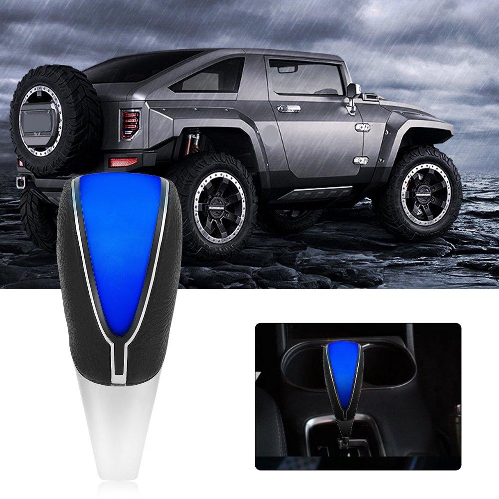 Blau Universal Auto Schaltknauf Touch Motion Aktivierte LED-Licht-Schaltknauf f/ür Schaltgetriebe und Automatikgetriebe