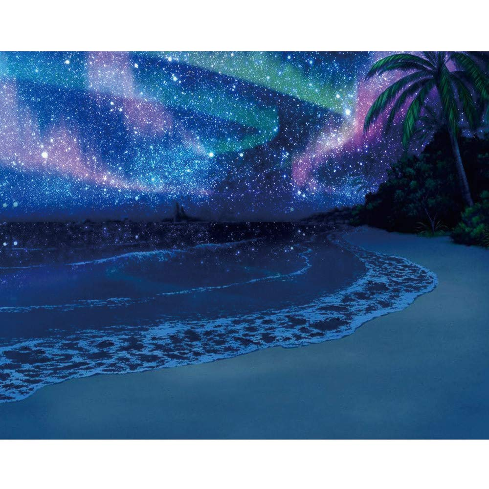Usstore  5D Landscape Full Embroidery Paintings Rhinestone Pasted DIY Diamond Painting Cross Stitch, DIY Diamond Painting Embroidery Part Round Diamond Home Decor Gift (30x25cm, E)