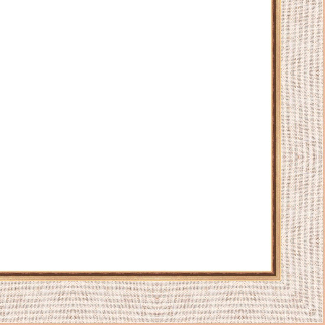 Picture Linen Liner (Wood) 18ft bundle - Wheat/Oatmeal - 1.25'' width - 5/16'' rabbet depth