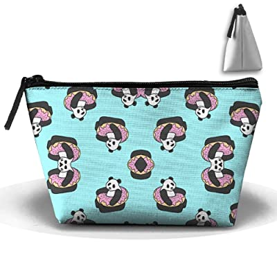 Pandas Cute Cosmetic Bag,Portable Travel Makeup Case Pouch Toiletry Wash Organizer.
