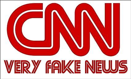 Amazon.com: GHaynes Distributing Rectangular CNN Very Fake News ...