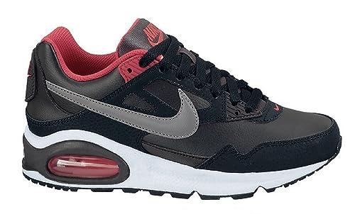 Nike Air Max Skyline Older Boys Girls Black Red Trainers UK