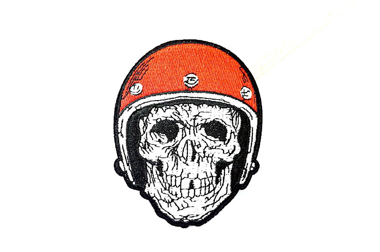 KUSTOM FACTORY - Mostrina Adesiva Skull Rider @ Kustom Factory ECUSSON SKULL RIDER