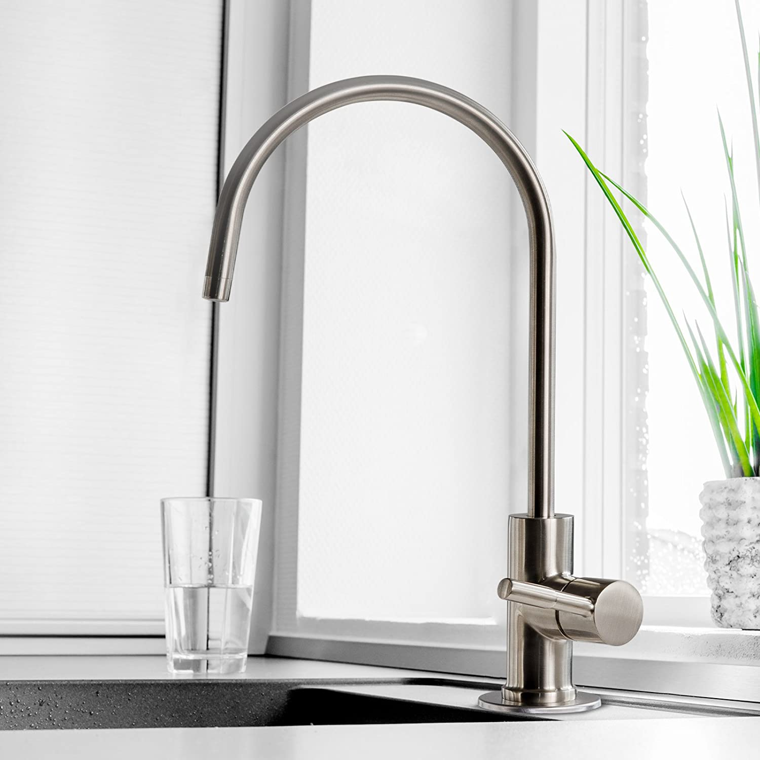 iSpring GA1-BN RO Faucet Installed