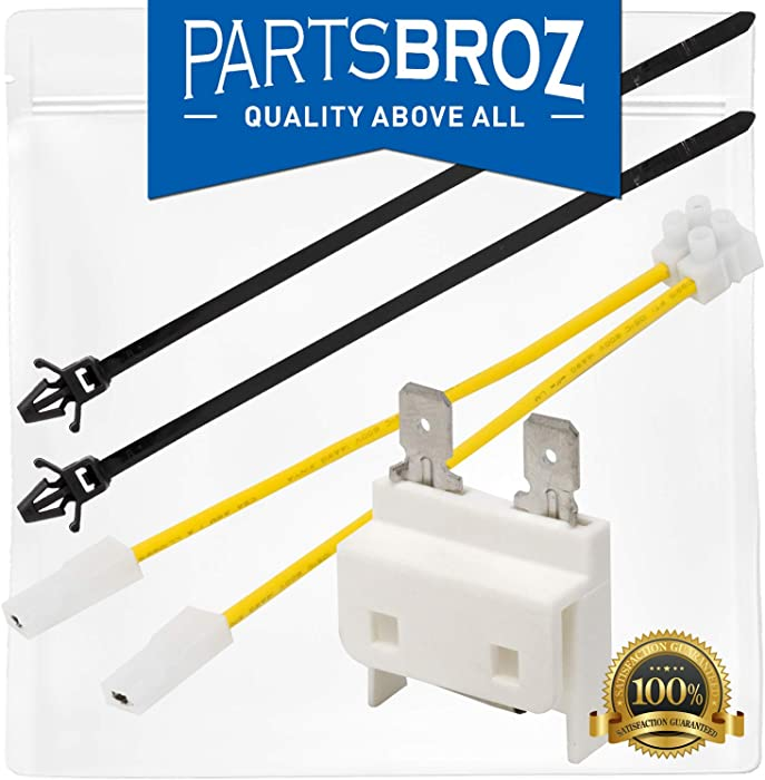 8193762 Fuse Kit for Whirlpool & KitchenAid Dishwashers by Parts Broz - Replaces Part Numbers AP3178588, 8193762VP, 8269213, 959376, AH774514, EA774514, ER8193762 & PS774514