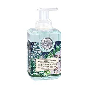 Michel Design Works Foaming Hand Soap, 17.8-Fluid Ounce, Christmas Snow