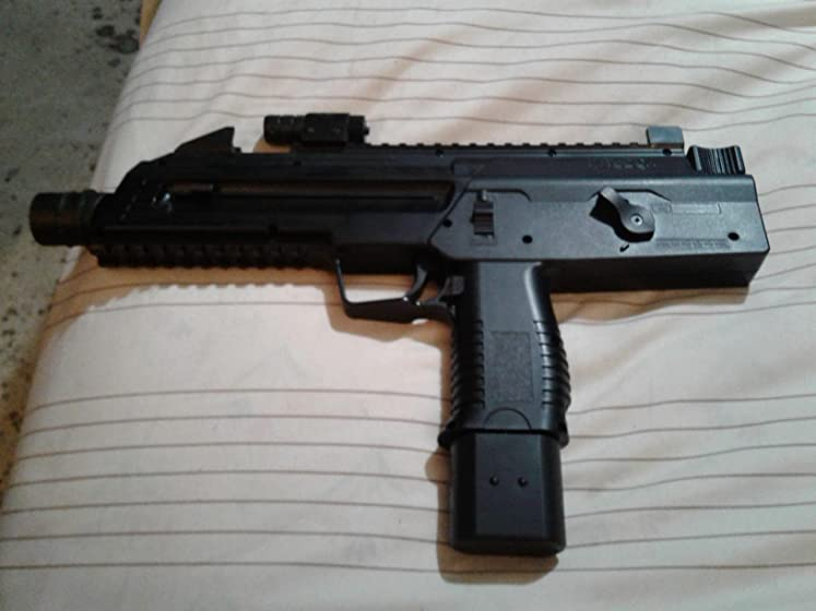 Umarex Steel-Storm .177 Caliber BB Gun Air Pistol But lots of co2 cartridges and BBs it go through them fast on fully auto.