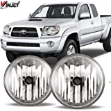 WINJET 05-11 Toyota Tacoma Fog Light, Clear(Wiring Kit Included