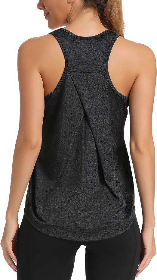 Amazon.com: HLXFHB - Camiseta sin mangas para mujer, para ...