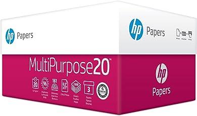 HP Papel de impresora, 9.07 kg, Letter - 3 Ream