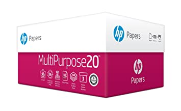 hp printer paper multipurpose ultra white copy paper 20lb 8 5 x