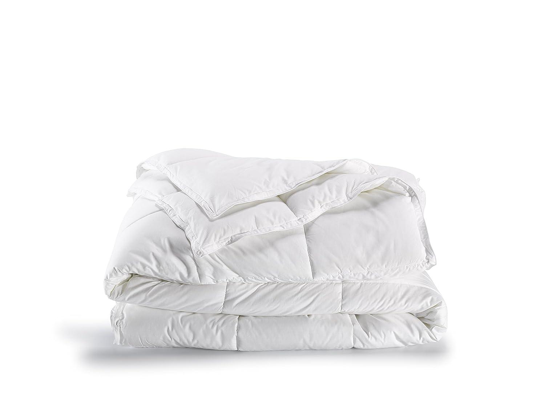 De Witte Lietaer 191661 Ducky Bettbezug Perkal-Baumwolle weiß, weiß, 240 x 220 cm