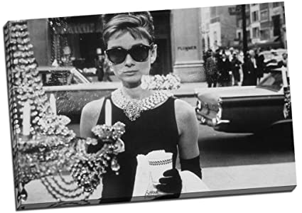 in vendita 9ebec 9b41a Panther Print - Stampa su tela grande, con Audrey Hepburn ...
