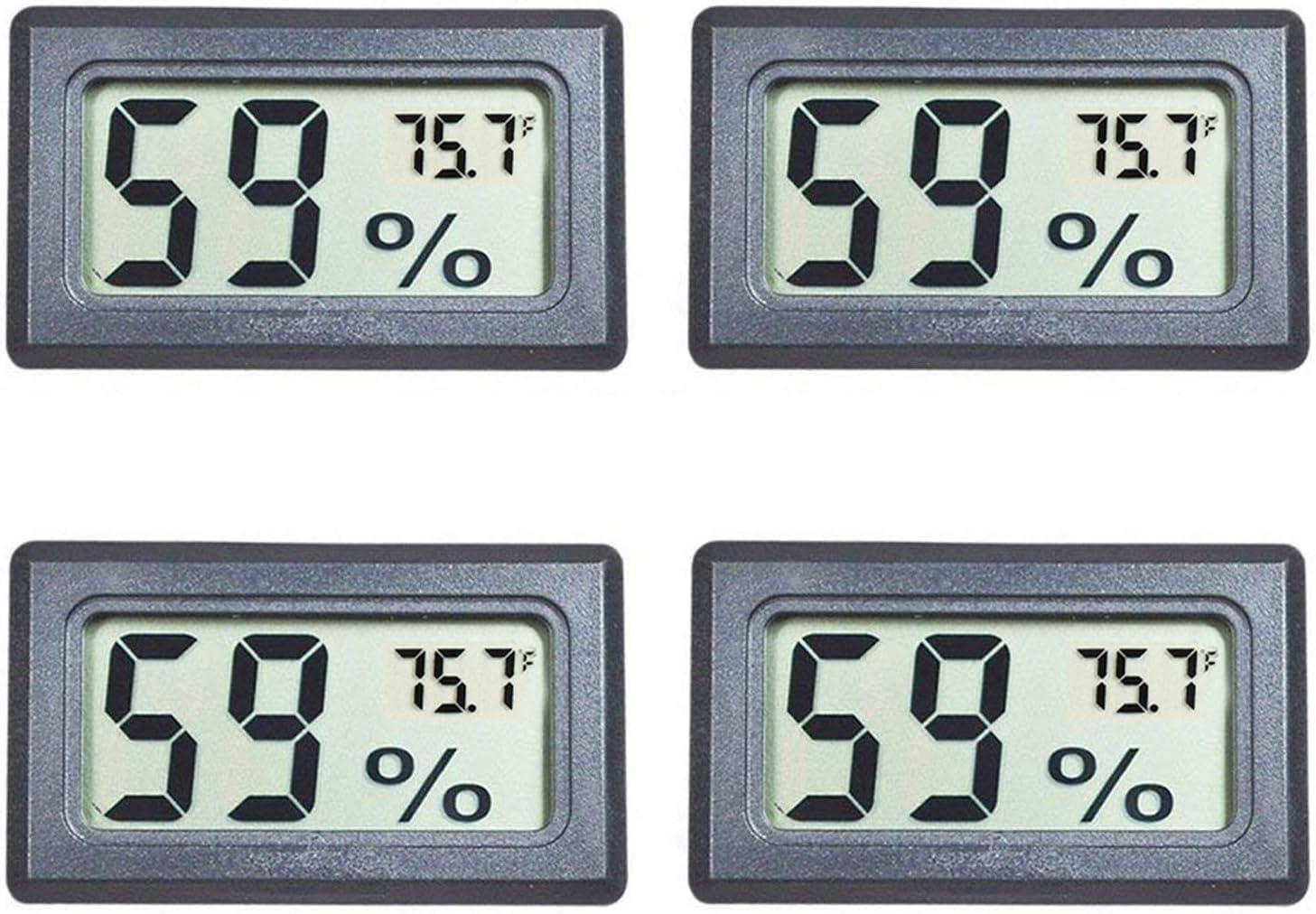5x Mini Digital Thermometer Hygrometer Luftfeuchtigkeitstemperaturmesser  50 ~