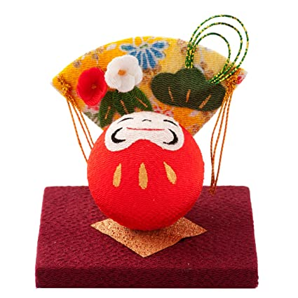 FUN Fun Japanese Happy New Year Ornament Daruma Doll