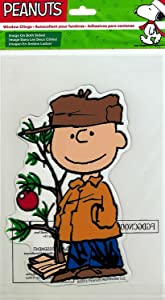 Product Works Peanuts Gel Window Cling (Charlie Brown)