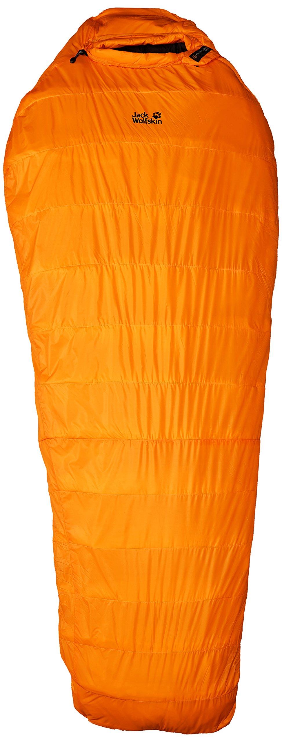Jack Wolfskin Base Camp -29 Degrees Celcius Sleeping Bag, Bag /Burly Yellow by Jack Wolfskin