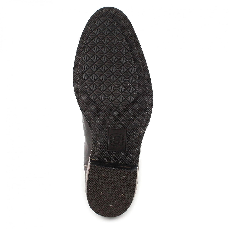 Sendra Boots Herren 5588 Cowboy Stiefel 5588 Herren Lederstiefel Chocolate 68d447