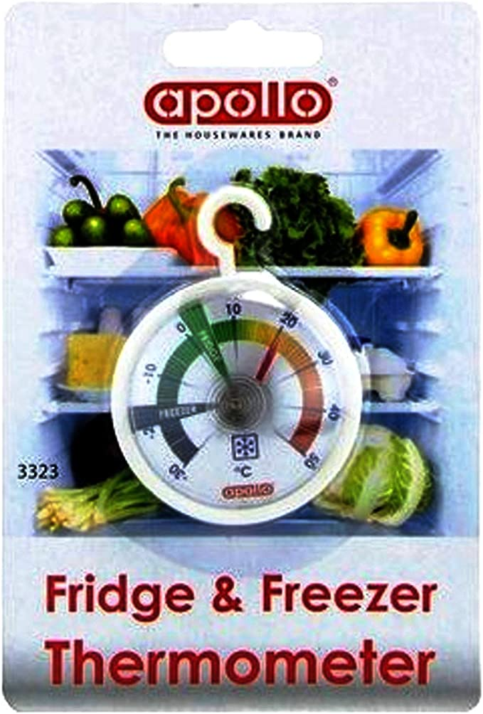 Dial Fridge Freezer Thermometer with Hanging Hook