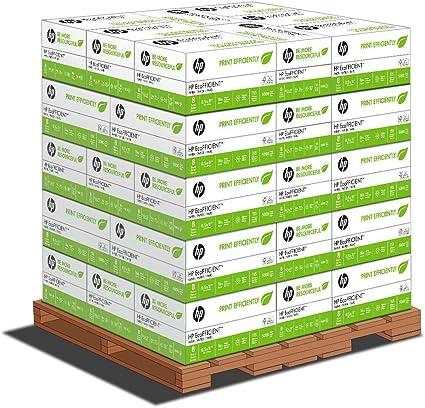 HP Papel, ecofficient, optimizado para HP EcoSmart, maza, 8,5 x 11 ...