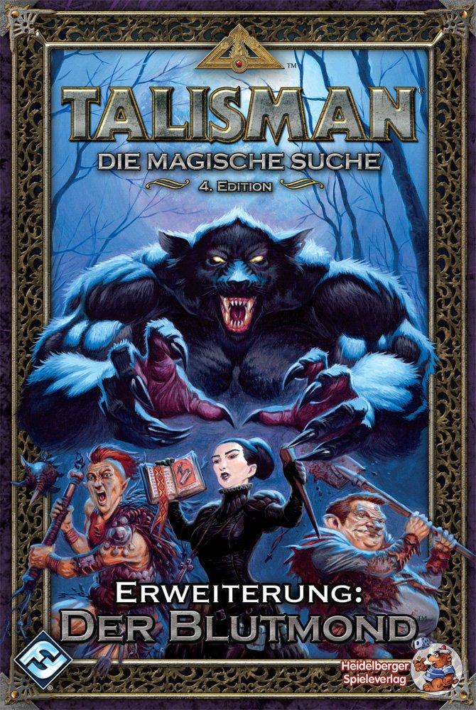 Heidelberger Spieleverlag HE456 - Talisman, Der Blutmond, pack de ...