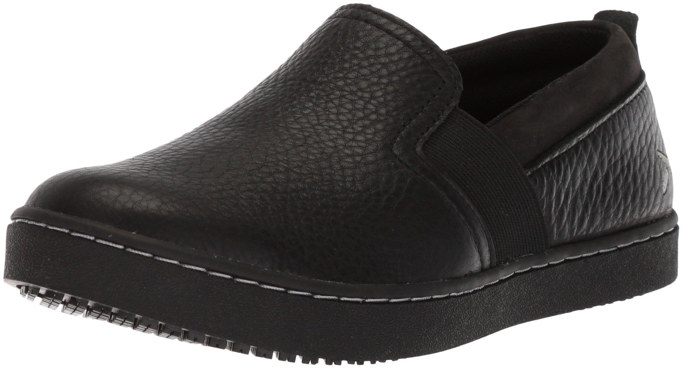 MOZO Women's Kai Food Service Shoe, Black, 5.5 Medium US